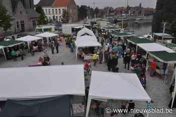 BioEcomarkt op Sint-Poppoplein en KorteKeten minifestival (Deinze) - Het Nieuwsblad