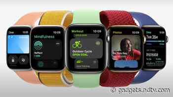 Apple Watch Series 7 Specifications in Detail Tipped Through Alleged Internal Document
