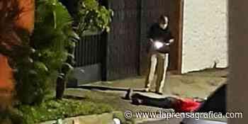 Atacan a hombre en San Salvador desde una motocicleta - La Prensa Grafica
