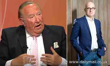 Andrew Neil stepped down from GB News over 'differences with the board and managers'