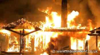 Mysterious Google-linked mansion in wealthy Palo Alto neighbourhood razed to ground by blaze