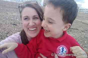 Mum and son living in caravan to attend West Sussex school