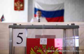 Russian election: Google and Apple remove Navalny app as Russia goes to the polls