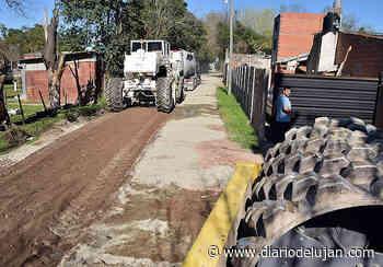 Se realizan trabajos en los barrios Santa Elena, Constantini y El Ceibo – El diario de Luján - El Diario de Lujan