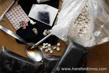 Hereford man was caught with heroin and cocaine