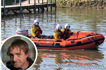 RNLI Fleetwood share story of bait fisher rescue on BBC show
