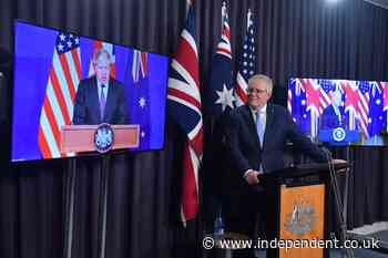 Aukus: What is the new defence pact between Australia, Britain and the US?