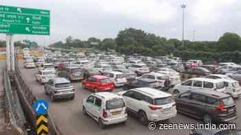 Delhi witnesses massive traffic jams as SAD holds protest against Centre`s farm laws