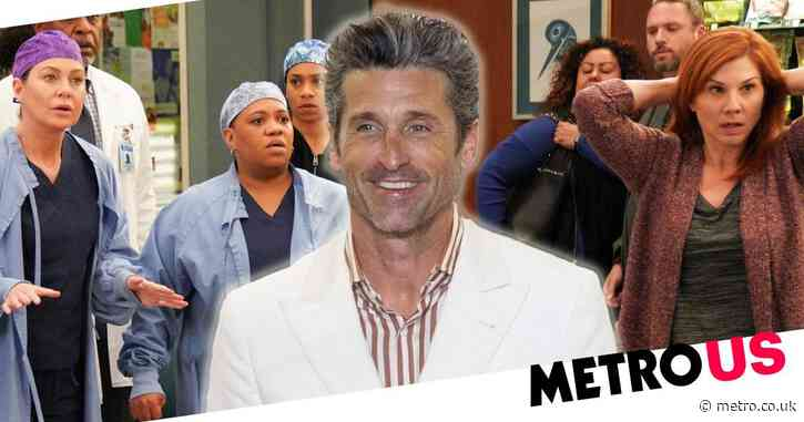 Patrick Dempsey accused of 'terrorising' Grey's Anatomy set and leaving cast with 'PTSD' before exit