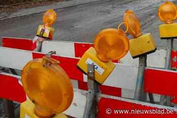 Drie dagen werken in Nieuwstraat (Bornem) - Het Nieuwsblad