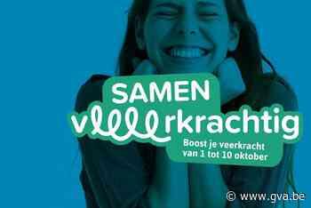 Samen Veerkrachtig: tien dagen aandacht voor geestelijke gez... (Bornem) - Gazet van Antwerpen Mobile - Gazet van Antwerpen