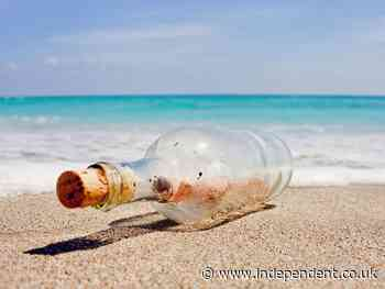 Message in a bottle from Japanese children in the '80s  reaches Hawaii beach after 37 years