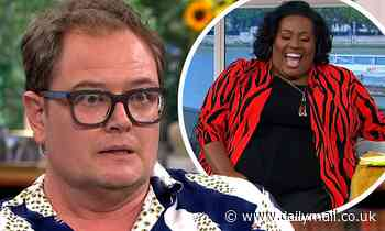 Alison Hammond makes a cheeky comment to Alan Carr as he chats on This Morning