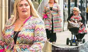 Gemma Collins looks stylish as she hits Gucci in Knightsbridge