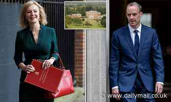 Dominic Raab and Liz Truss both stake a claim to Chevening House