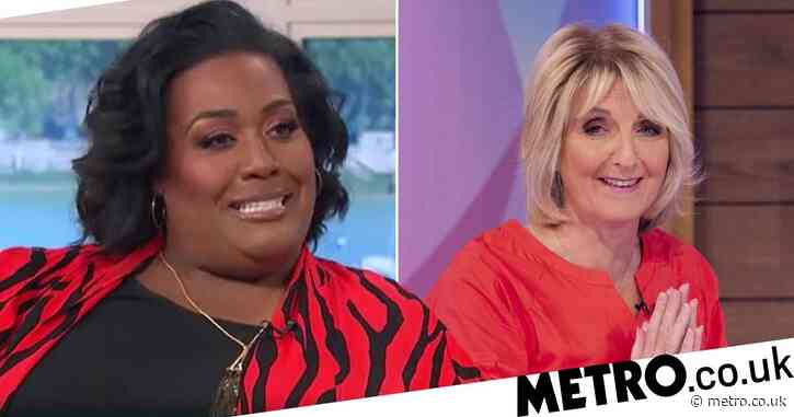 Alison Hammond expresses shock over walking in on naked Kaye Adams: 'One of the best nights of my life!'