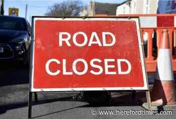 Emergency road closure due to unsafe bridge in Herefordshire