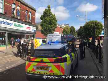 Blackburn: Man arrested following large police presence and pursuit
