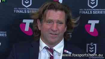 Even for a Des Hasler press conference, this was one of the most bizarre he's held