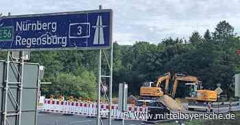 Die B299 nach Pilsach ist gesperrt - Mittelbayerische
