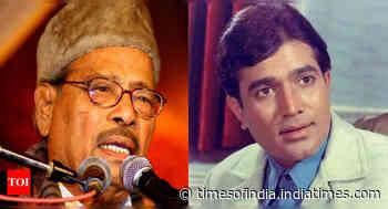 Manna Dey was a big fan of Rajesh Khanna