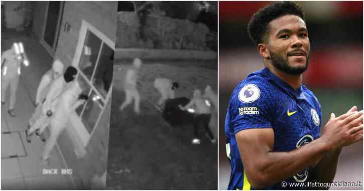 Reece James, le telecamere di sorveglianza immortalano la rapina a casa del calciatore: quattro ladri entrano in casa sua e rubano la cassaforte – VIDEO