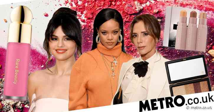 From Victoria Beckham's gloss to Selena Gomez's highlighter, your guide to celeb makeup lines
