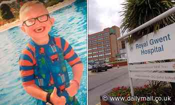 Boy, eight, who died after THREE doctors missed signs of meningitis was 'failed' by hospital staff
