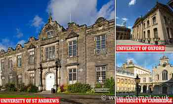 University of St Andrews knocks Oxbridge off league table top spot for the first time