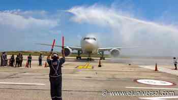 Nueva Esparta recibió vuelo inaugural Rusia- Porlamar con 437 turistas - El Universal (Venezuela)