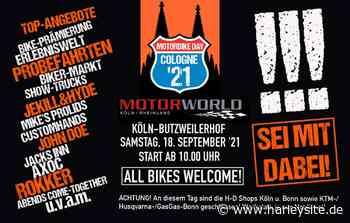 """Biker-Countdown läuft: Samstag ist """"Motorbike Day Cologne 2021""""! - HARLEYSITE.DE - Harleysite"""