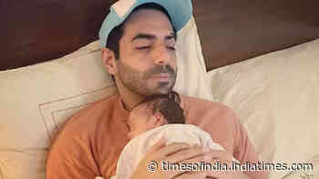 New dad Aparshakti Khurana sings for daughter Arzoie and it is all things cute!