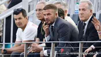 Beckham increases Inter Miami ownership stake