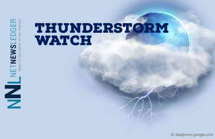 Thunderstorm Watch in Effect for Thunder Bay and Superior West