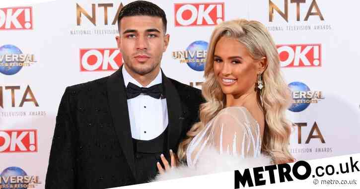 Love Island star Tommy Fury goes topless and beats chest on wild night out