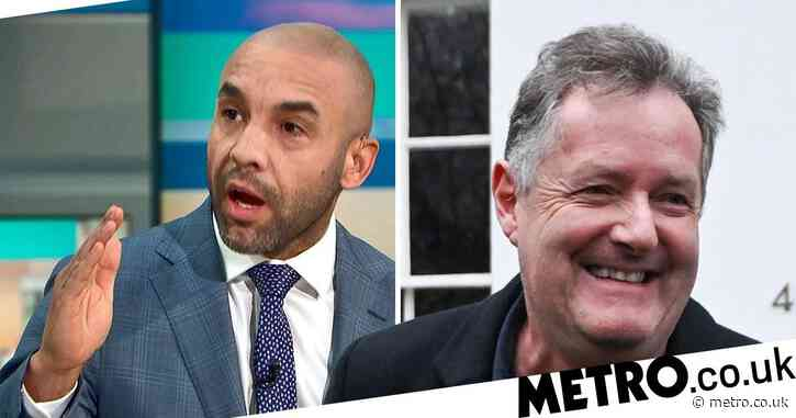 Piers Morgan stormed off GMB after deciding against heat butting Alex Beresford