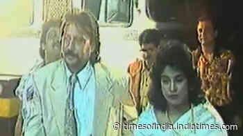 Flashback video: Movie premiere of Jackie Shroff's 1993 movie 'Gardish'