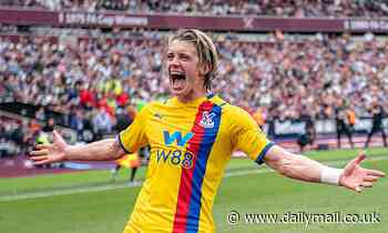 Conor Gallagher is NOT ready for senior England call-up, insists Crystal Palace boss Patrick Vieira