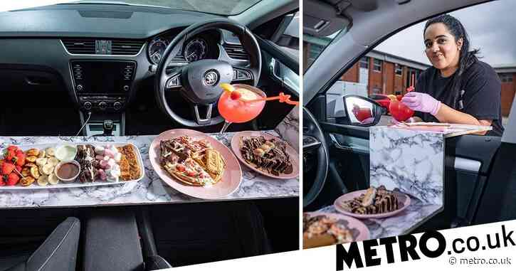 University graduate pursues love of baking and sets up drive-in dessert shop in Manchester