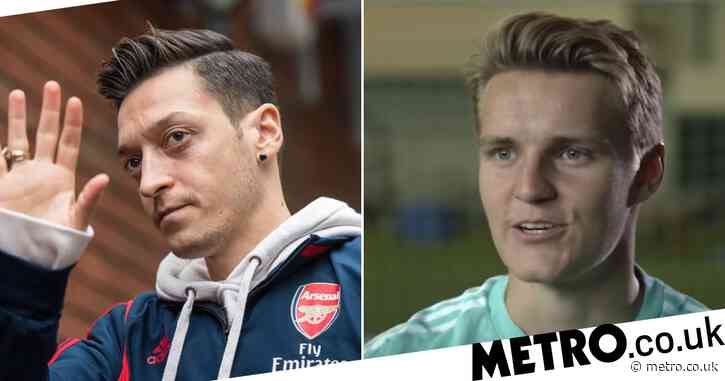 Martin Odegaard responds to Mesut Ozil comparisons and tells Arsenal fans 'results will come' after difficult start