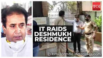Nagpur: IT department conducts raid at Anil Deshmukh's residence