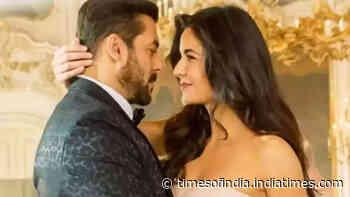 Tiger 3: Salman Khan and Katrina Kaif shoot for a romantic number on the Love Lock Bridge