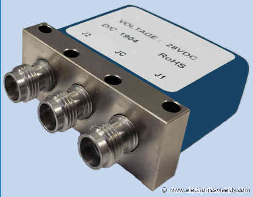 50+GHz coax relays for 5G