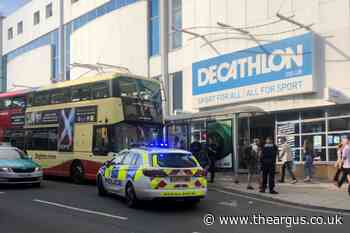 Three men arrested in Brighton after 'altercation' on bus