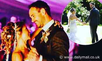 Sarah-Jane Honeywell marks her anniversary with husband AydenCallaghan by sharing wedding day snaps