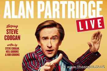Alan Partridge to take to the stage at Brighton Dome