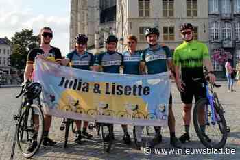 Toon Pellegrims zamelt bijna 5.000 euro in voor KOTK met fietstocht langs Belgische landsgrens
