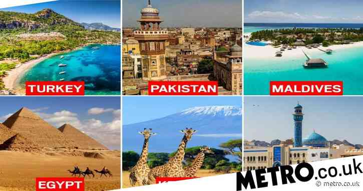 The eight countries taken off red list in latest travel review