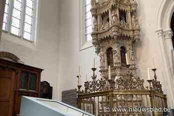 Ontdek de sacramentstoren nu tot in het kleinste detail - Het Nieuwsblad