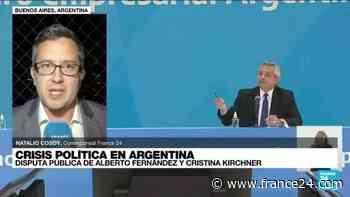 Informe desde Buenos Aires: una fractura sin precedentes en el Gobierno de Argentina - FRANCE 24